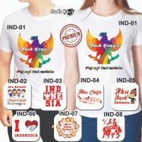 Baju / Kaos Anak/Dewasa /Laki-Laki / Perempuan Design Kemerdekaan 17an