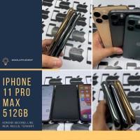 iphone 11 pro max 512gb second ex inter fullset terawat - gold
