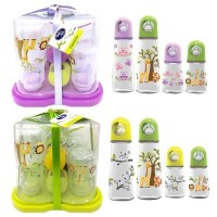 Baby Safe Botol Susu dan Rak Botol Susu / Bottle Rack Gift Set
