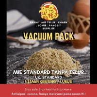 VACUUM PACK Mie Mentah Bisa untuk Vegetarian Tanpa Telur Bakmi Vegan