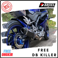 Knalpot Racing Slip On Universal 150 cc - 250 cc R15 Vixion Ninja CBR