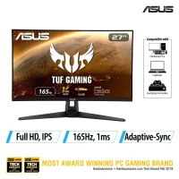 ASUS TUF Gaming VG279Q1A 27 Inch Gaming Monitor - FHD IPS 165Hz 1ms