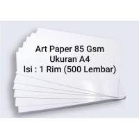 Art Paper 85 Gsm A4 1 Rim