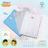 Baju Kaos Dalam Oblong Polos Untuk Anak Sorex Kids