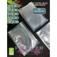 [Premium] Plastik Vacuum Bag Embossed - Vacum Sealer Bag Vakum Makanan