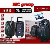 SPEAKER meeting portable ADVANCE K 1812 bluetooth 18inch ORIGINAL