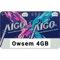 Voucher Axis Aigo OWSEM 4GB
