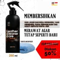 Leather Cleaner Care | Pembersih Dan Perawatan Khusus Bahan Kulit