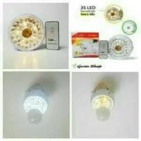 Lampu Emergency+Fitting Tengah+Remot XRB TG-635R 35 LED Termurah.