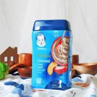 Gerber Probiotics Oatmeal Peach Apple Baby Cereal 227 gr