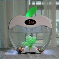 Desktop Aquarium USB 2015-A Apple Akuarium Apel Fish Smart Tank Clock