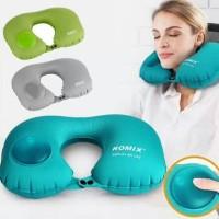 Bantal leher tanpa tiup travel neck pillow inflatable romix