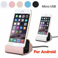 Stand Dock Charger Hp Android Type Micro USB -150 gr