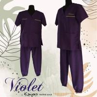 Baju Dokter OKA / Seragam Kesehatan celana model JOGGER size S - M
