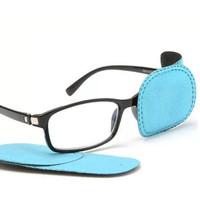 Penutup Mata Terapi Lazy Eye Patch Amblyopia Orthoptic - Biru