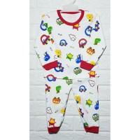 baju tidur baby/setelan baby/piyama baby/baju anak 6-18bln - HELLO