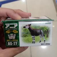 Ania ookapi okapi zebra donkey Animal adventure mainan binatang hewan