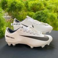 Sepatu Bola Nike Mercurial XI White Race FG