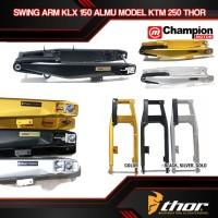SWING ARM KLX 150 ALUMINIUM MODEL KTM 250 THOR - Hitam