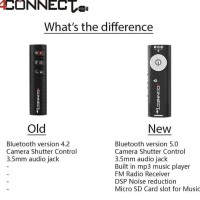 4Connect Bluetooth Audio Music Receiver Dongle With MP3 Player and FM