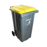 Krisbow 240 Ltr Tempat Sampah Plastik Neo - Abu-Abu