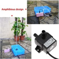 pompa air mini submersible sirkulasi akuarium air mancur USB power DC