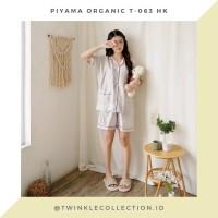 GREET Piyama Wanita Organic Silk T-063 - Baju Tidur Organik