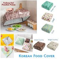 New Korean Food Cover / Tudung Saji Dengan Lapisan Penahan Panas