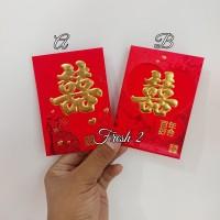 Angpao shuangxi 13x8cm/angpao sangjit/amplop wedding