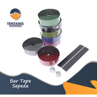 Bar Tape Sepeda Honeycromb Road Bike Bicycle Handlebar Tape Breathable