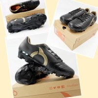 New Sepatu Bola Ortuseight Mirage FG Black Gold Original BNIB