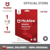 McAfee® Mobile Security Software Antivirus Android(1Device/1 Year)