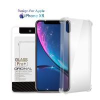 Premium Soft Case iPhone XR Clear - Anti Crack Glass Pro