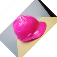 Helm Safety PINK Proyek Arrow Head Komplit Helm Aplus pink
