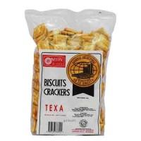 Nissin Texa Crackers 300gr - Biskuit Krekers Rasa Bawang Putih