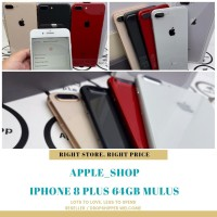 iphone 8 plus 64gb second fullset mulus terawat - Grey Mulus