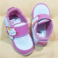 Sepatu Anak Perempuan Semi Boots NON LED HELLO KITTY - Putih fanta, 24