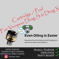 Cartridge Drag S   Cartridge Drag X 100% Authentic Catridge Empty Tank