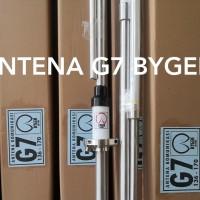 ANTENA HUSLER G7 VHF LILITAN PERAK BAHAN ALKAN