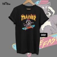 KAOS Trasher!! TOMOINC | HYPE | GEEK VOL 6 | T-Shirt |DTG | BIG SIZE