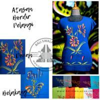 Atasan Bordir Pelangi | Kaos Bali | Baju Oleh Oleh Bali | Baju Bordir