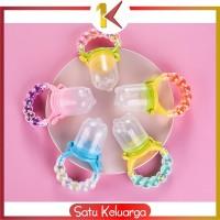 SK-C44-45 Empeng Dot Buah Anak Bayi Baby Fruit Feeder Rattle Teether