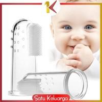 SK-C41 Sikat Gigi Jari Bayi Bahan Silikon Lembut Pack OPP Pembersih