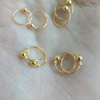 anting bayi model unyil 1/4 gram emas muda