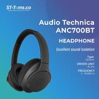 Audio Technica ATH ANC700BT WIRELESS NOISE-CANCELLING HEADPHONES Black - Black