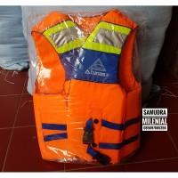 Life Jacket / Rompi / Baju Pelampung Atunas Size S BIRU MURAH