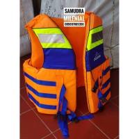 Life Jacket / Rompi / Baju Pelampung Keselamatan Atunas XL BIRU MURAH