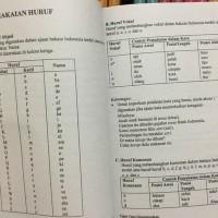 (TERLARIS) BUKU EYD | EJAAN BAHASA INDONESIA YG DI SEMPURNAKAN