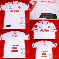 Jersey Kaos Baju Gaming Aura 2020 RED FIRE - Free Nickname & Sticker