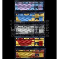 Keycaps Set Mix Color Backlit LED Keyboard Mechanical ABS Doubleshot